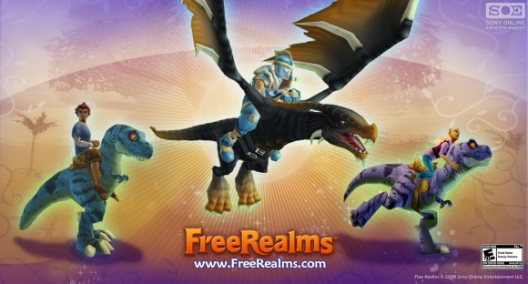 Free Realms - rides