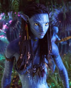 Avatar -  Zoe Saldana as Neytiri