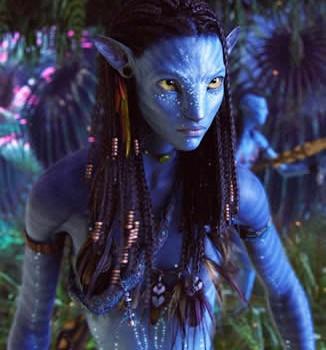 Avatar - Zoe Saldana as Neytiri