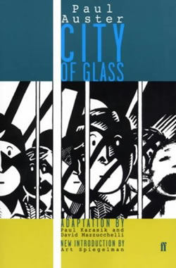 City of Glass Graphic Novel Review | shelfabuse.