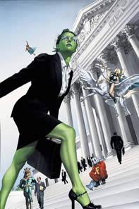 She-Hulk: Single Green Female