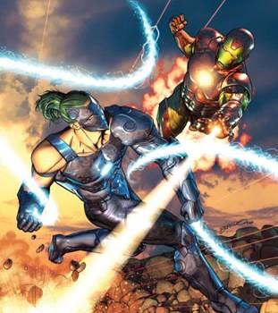 Iron Man vs. Whiplash #1 Review