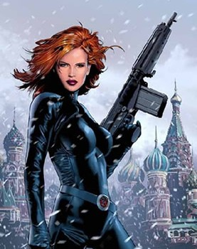 Emily Blunt as Black Widow?