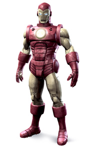 Iron Man - Red & Gold Suit