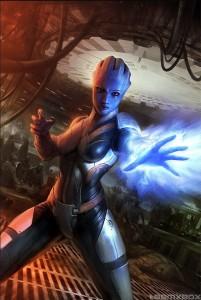 Mass Effect - asari Liara T'soni