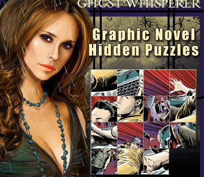 Ghost Whisperer Graphic Novel Hidden Puzzles