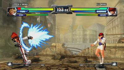 Neo Geo Battle Coliseum - Yuki versus Shermie