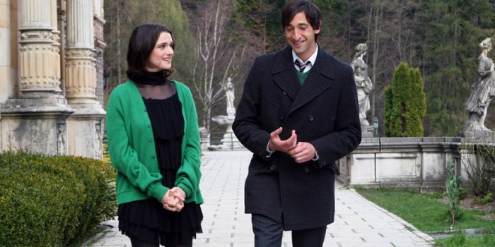Rachel Weisz and Adrien Brody in The Brothers Bloom