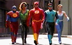 Justice League movie 90s