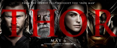 Thor Movie poster - cast
