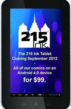 215 Ink Tablet