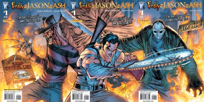 Freddy vs Jason vs Ash #1