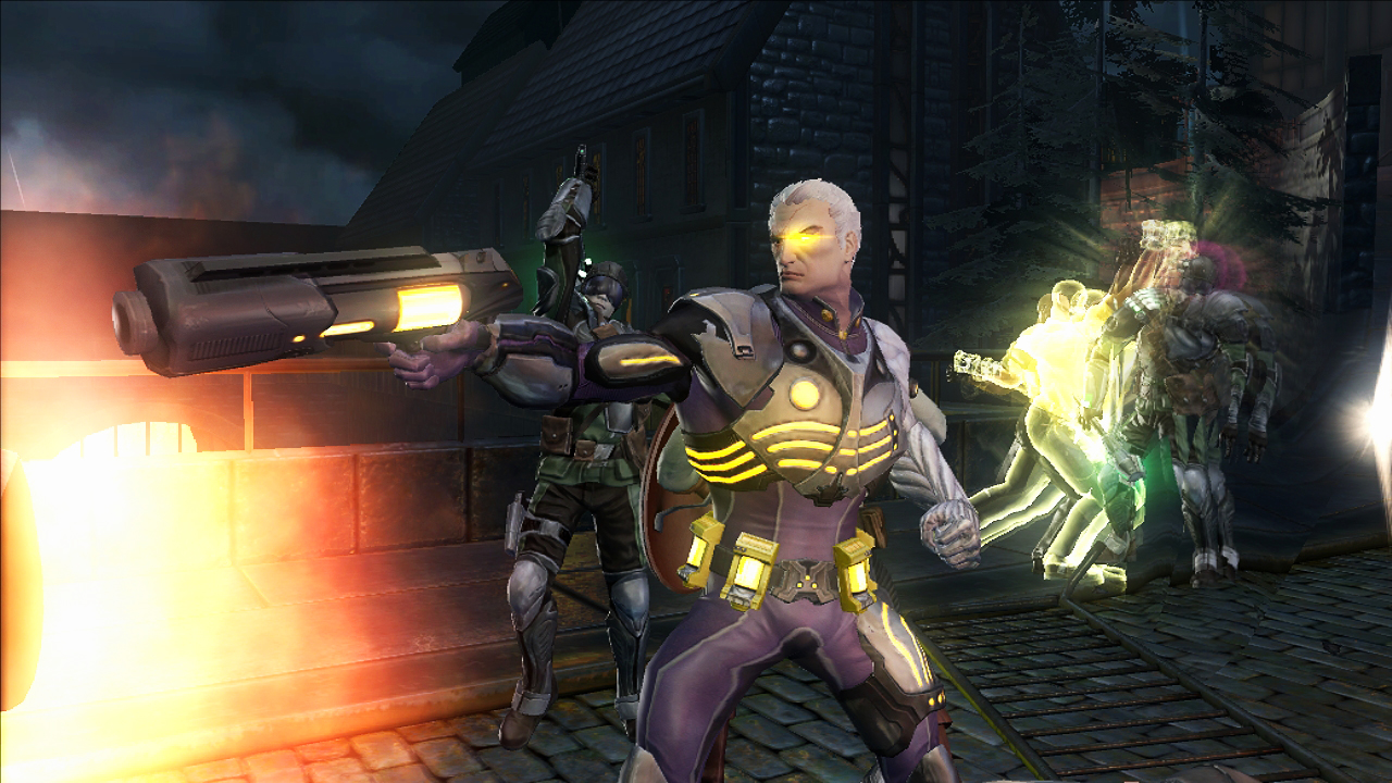 Marvel: Ultimate Alliance 2 - Captain America and Iron Man