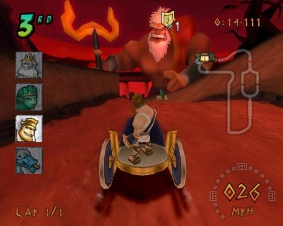 Heracles Chariot Racing WiiWare