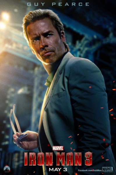Iron Man 3 - Guy Pearce as Aldrich Killian