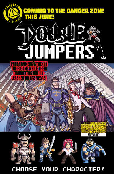 Double Jumpers - Action Comics Danger Zone