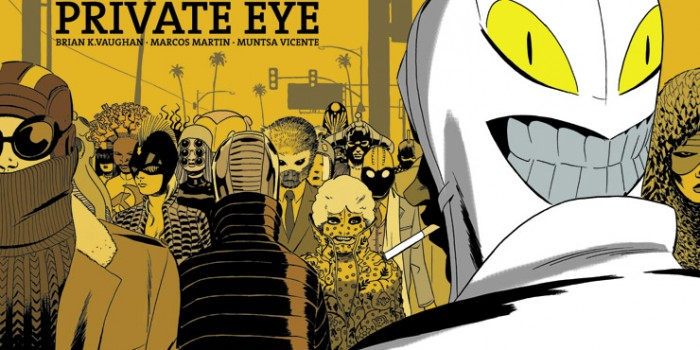 The Private Eye #1 - Cover