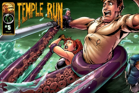 Temple Run comic book #5