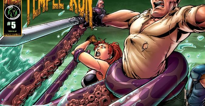 Temple Run comic book #5