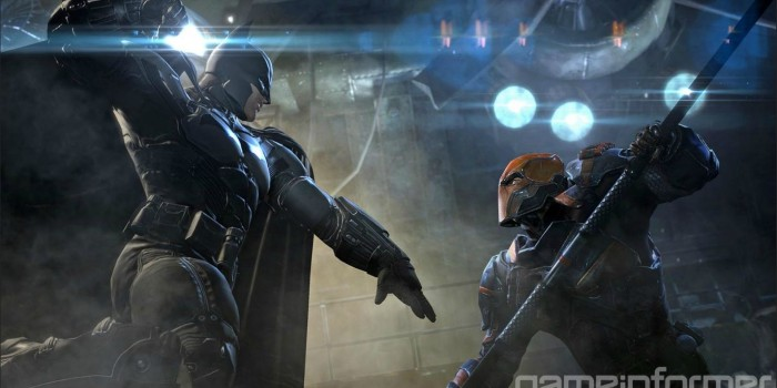 Batman: Arkham Origin - Batman vs Deathstroke