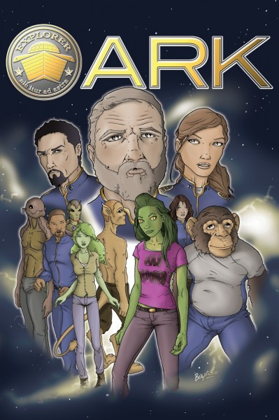 ARK Graphic Novel - Ryan Bayliss