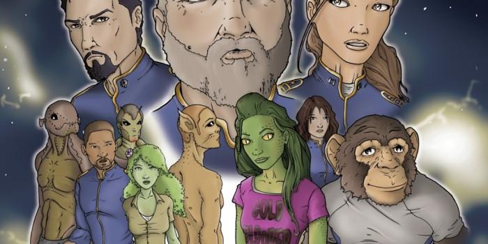 ARK Graphic Novel - Ryan Bayliss