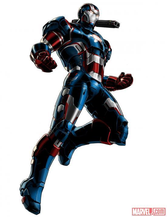 Avengers Alliance - Iron Patriot