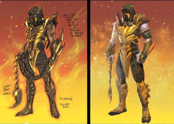 Injustice - Jim Lee's Scorpion