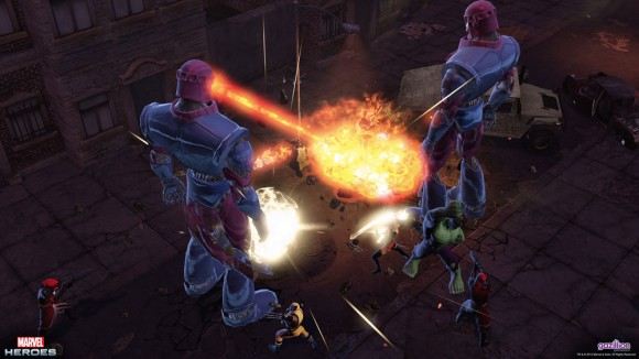 MArvel Heroes - Sentinels