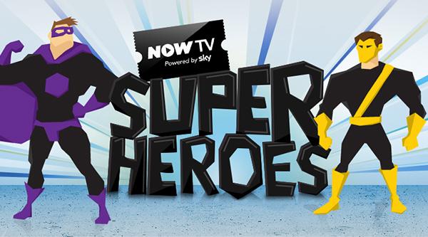 Now TV Superheroes