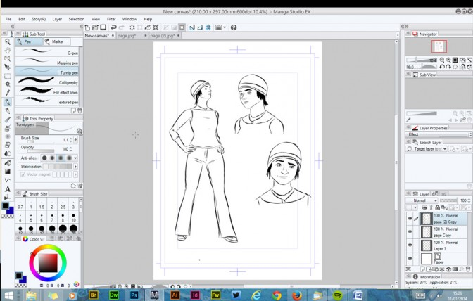 Manga Studio 5 EX  - The Scribe