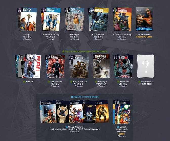 Humble Valiant Bundle