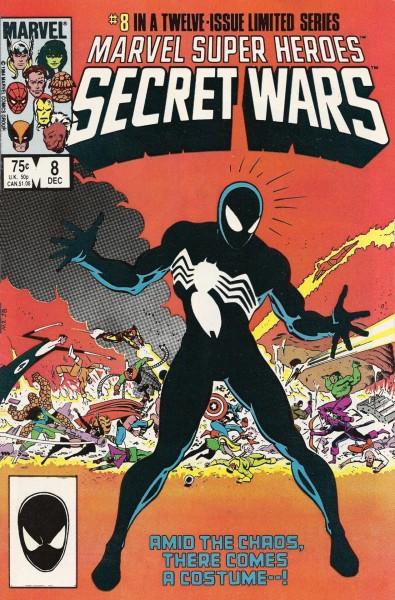 Secret Wars #8 - Symbiote Spider-man