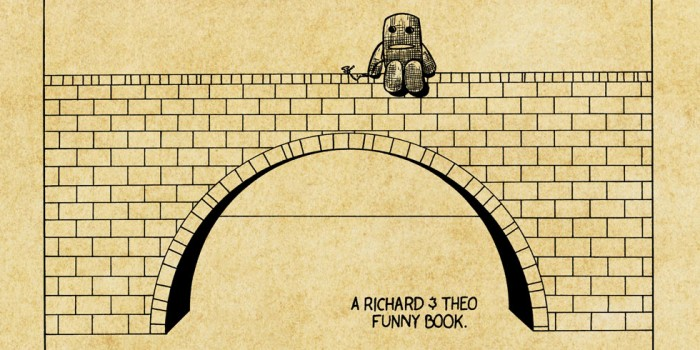 Square Planet Comics - Richard and Theo's Funny Books