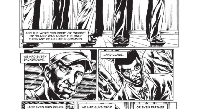 The Harlem Hellfighters (Max Brook, Caanan White) pg13
