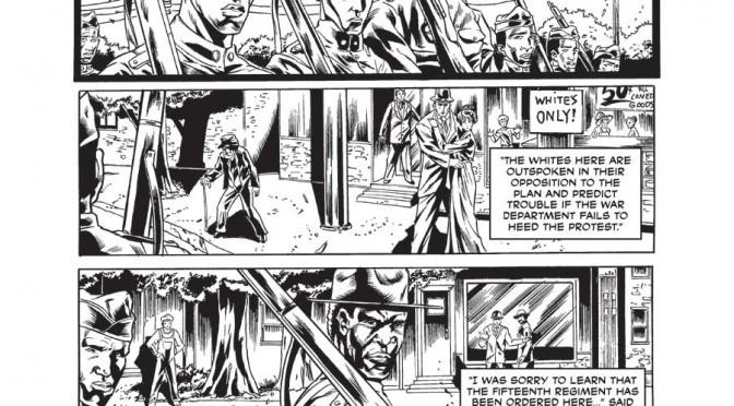 The Harlem Hellfighters (Max Brook, Caanan White) pg43