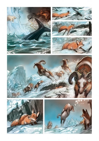 LOVE: The Fox - Frédéric Brrémaud