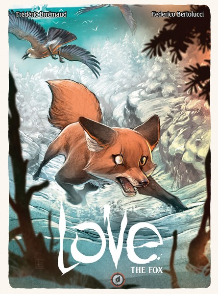 LOVE: The Fox - cover