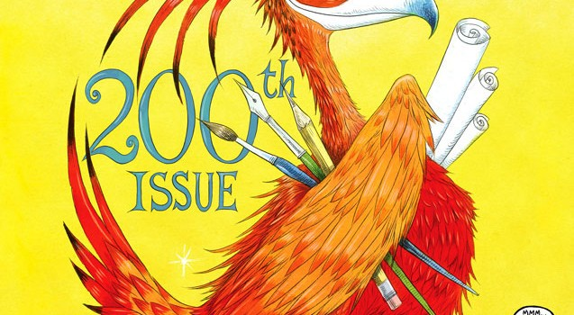 The Pheonix - 200th Issue - Chris Riddell