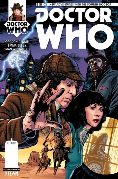 Doctor Who - Bian Williamson cover