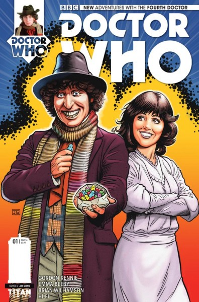 Doctor Who - Jay Gunn cover