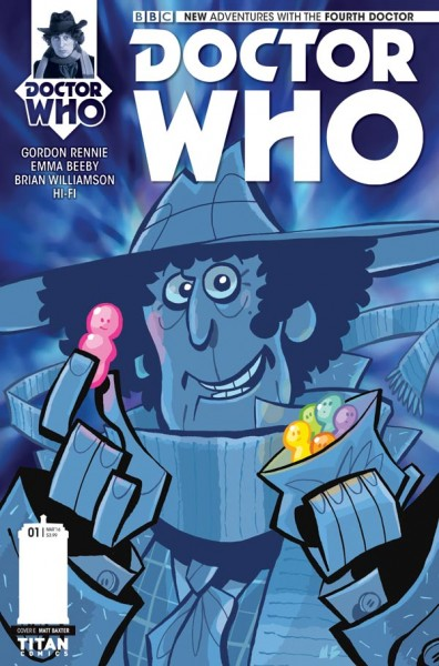 Doctor Who - Matt Baxter cover