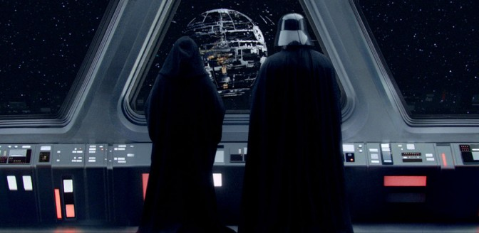 Star Wars Episode III: Revenge of the Sith - Darth Vader and Palpatine