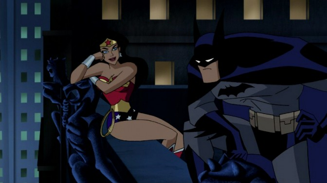 Justice League Unlimited - Batman and Wonder Woman
