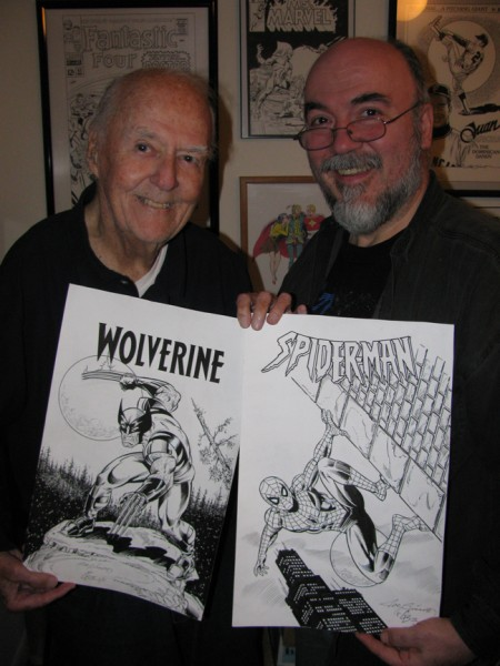 The Inkwell Awards - Wolverine, Spider-man
