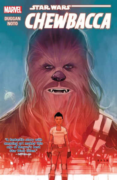 Chewbacca graphic novel