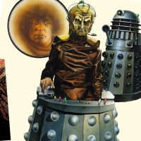 Doctor Who: The Target Book Artwork