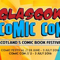 Glasgow Comic Festival and Comic Con 2016