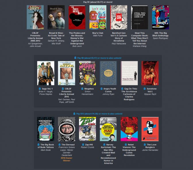 Humble Book Bundle: Forbidden Books