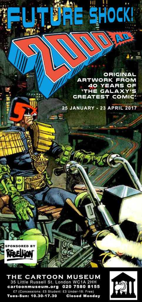 Future Shock: 40 years of 2000AD